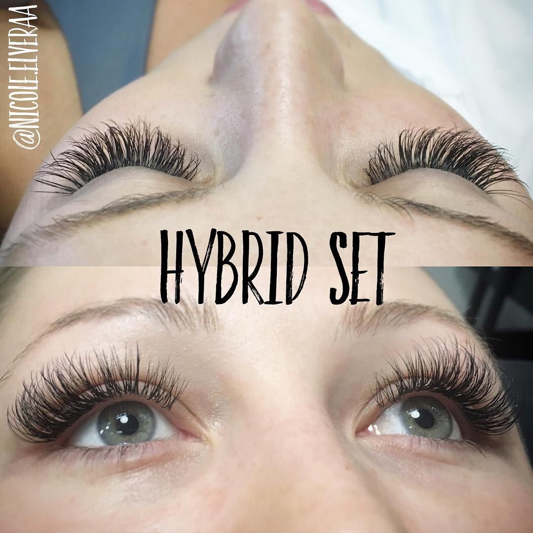 3106b58cf35 Hybrid Classic Volume Lashes www.goddessbeautylounge.com | lashes in ...