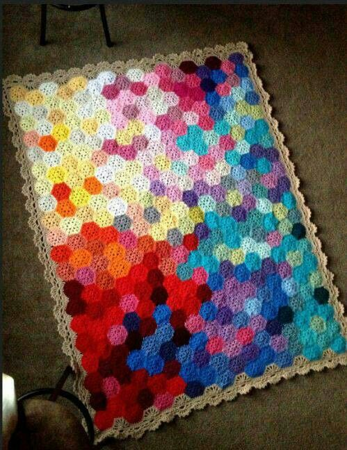 Another Alternate Option For A Temperature Blanket Crochet