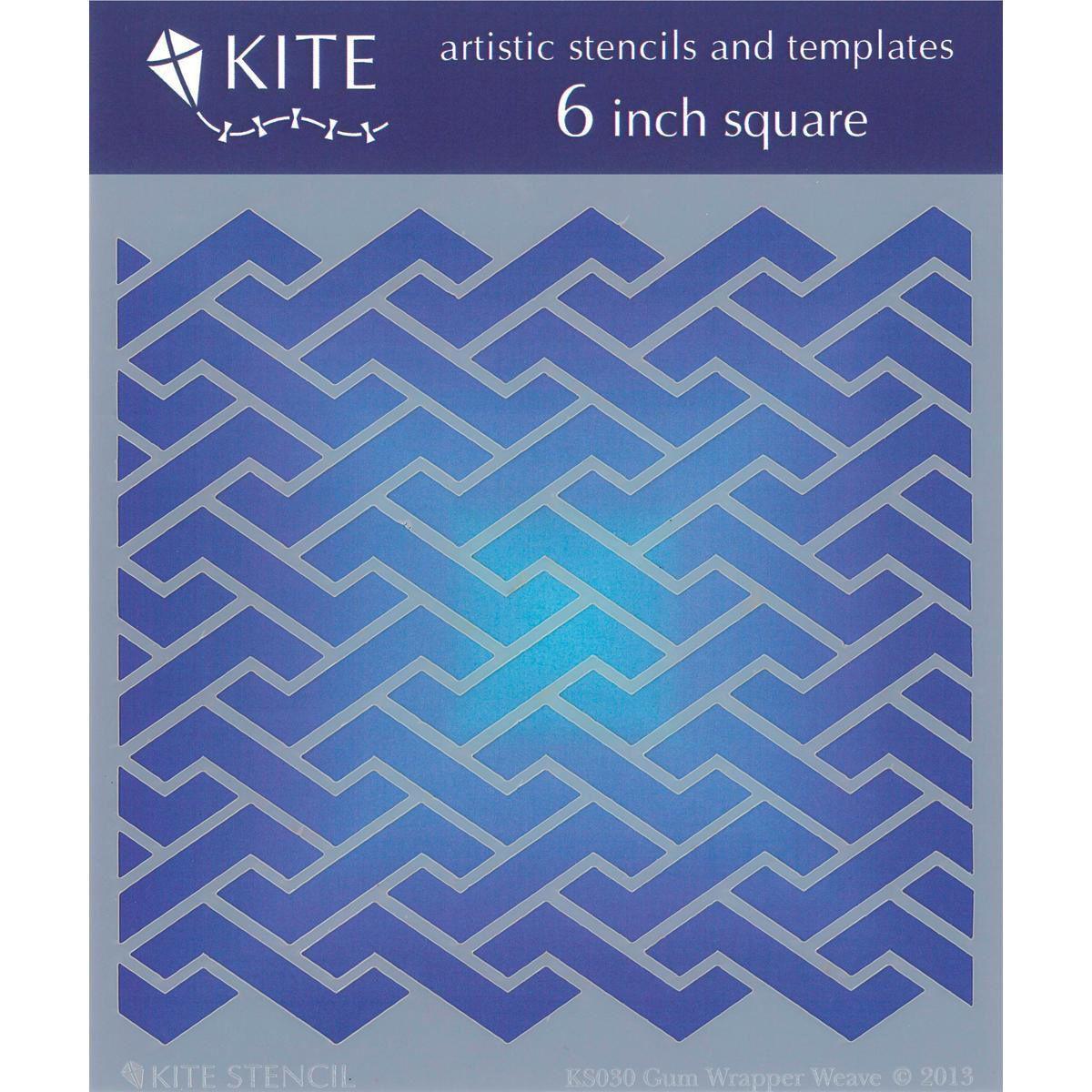 Judikins 6 Inch Square Kite Stencil - | Products | Pinterest | Kites ...