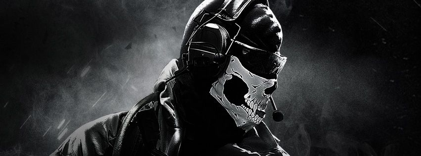 Call Of Duty Ghosts Facebook Cover