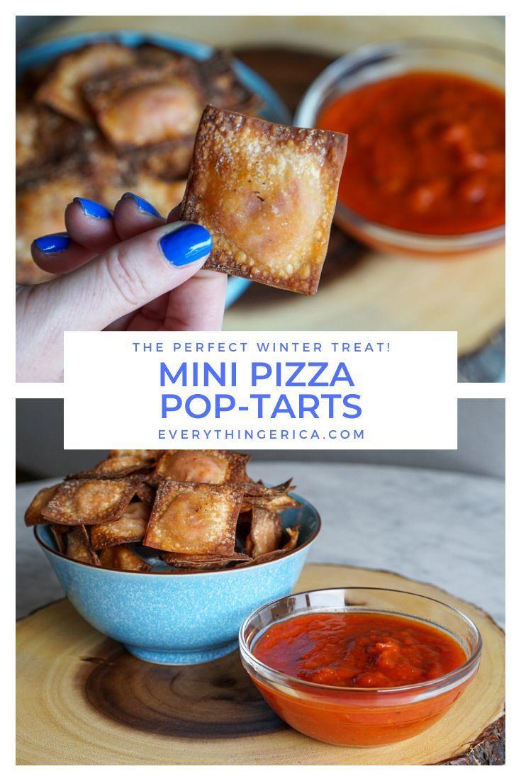 Mini Pizza PopTarts Recipe in 2020 Pop tarts, Mini