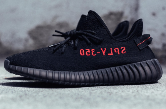 e7f58410abf7 adidas Yeezy Boost 350 V2 Black Red