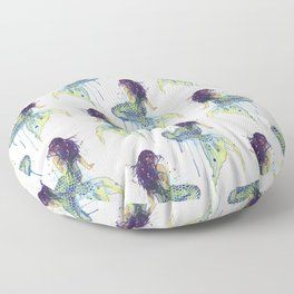 Superb Mermaid Floor Pillow Airfryer Floor Pillows Bean Bag Machost Co Dining Chair Design Ideas Machostcouk