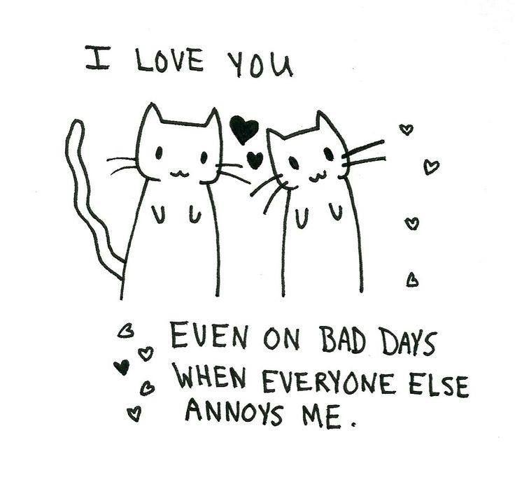 Words of love.  ❤