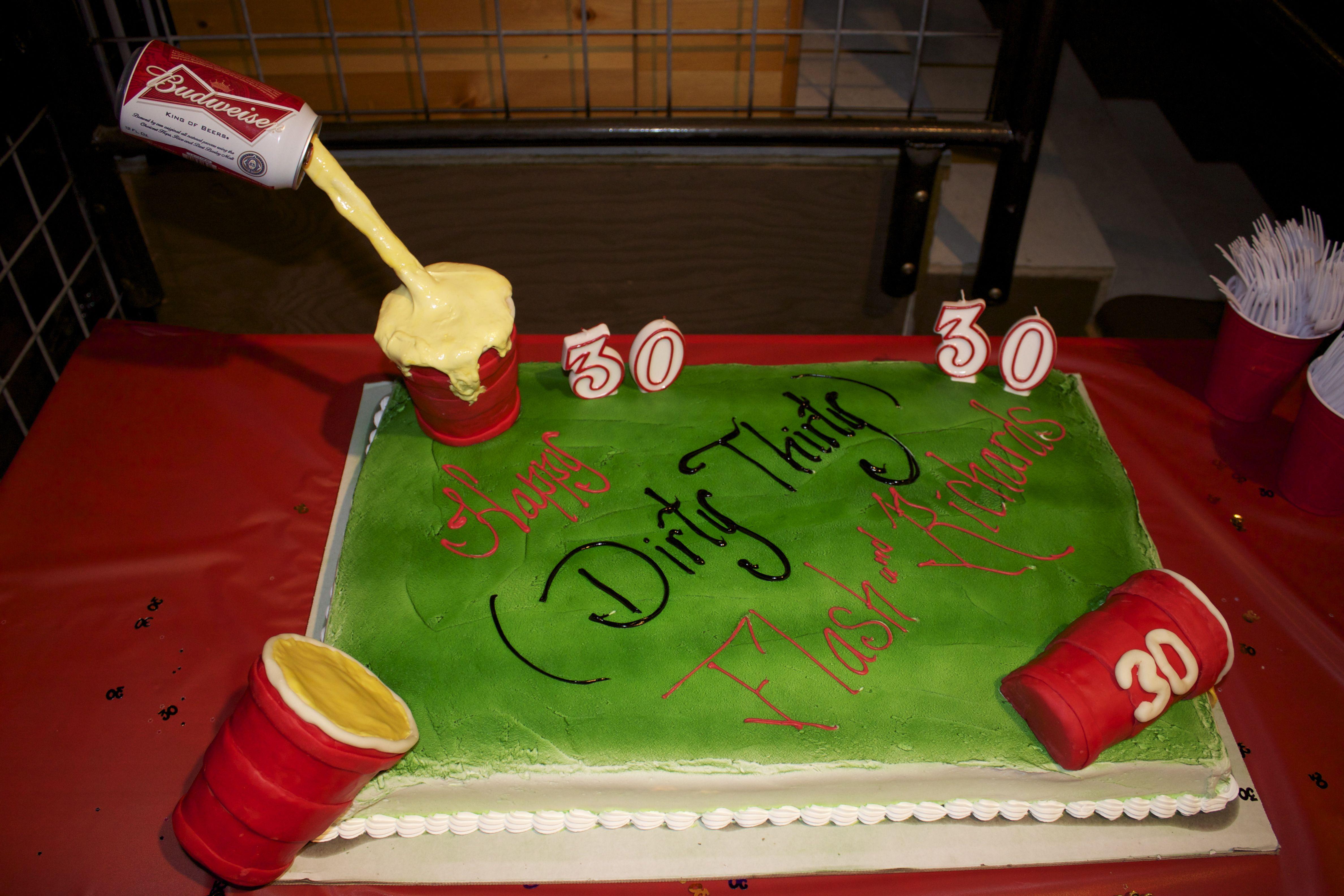 dirty birthday cake - photo #40
