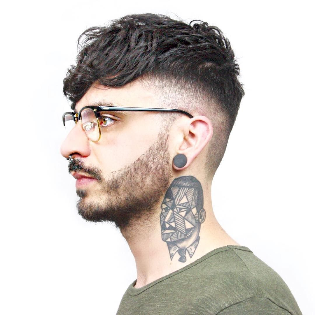 Fade + Fringe Hairstyles For Men
