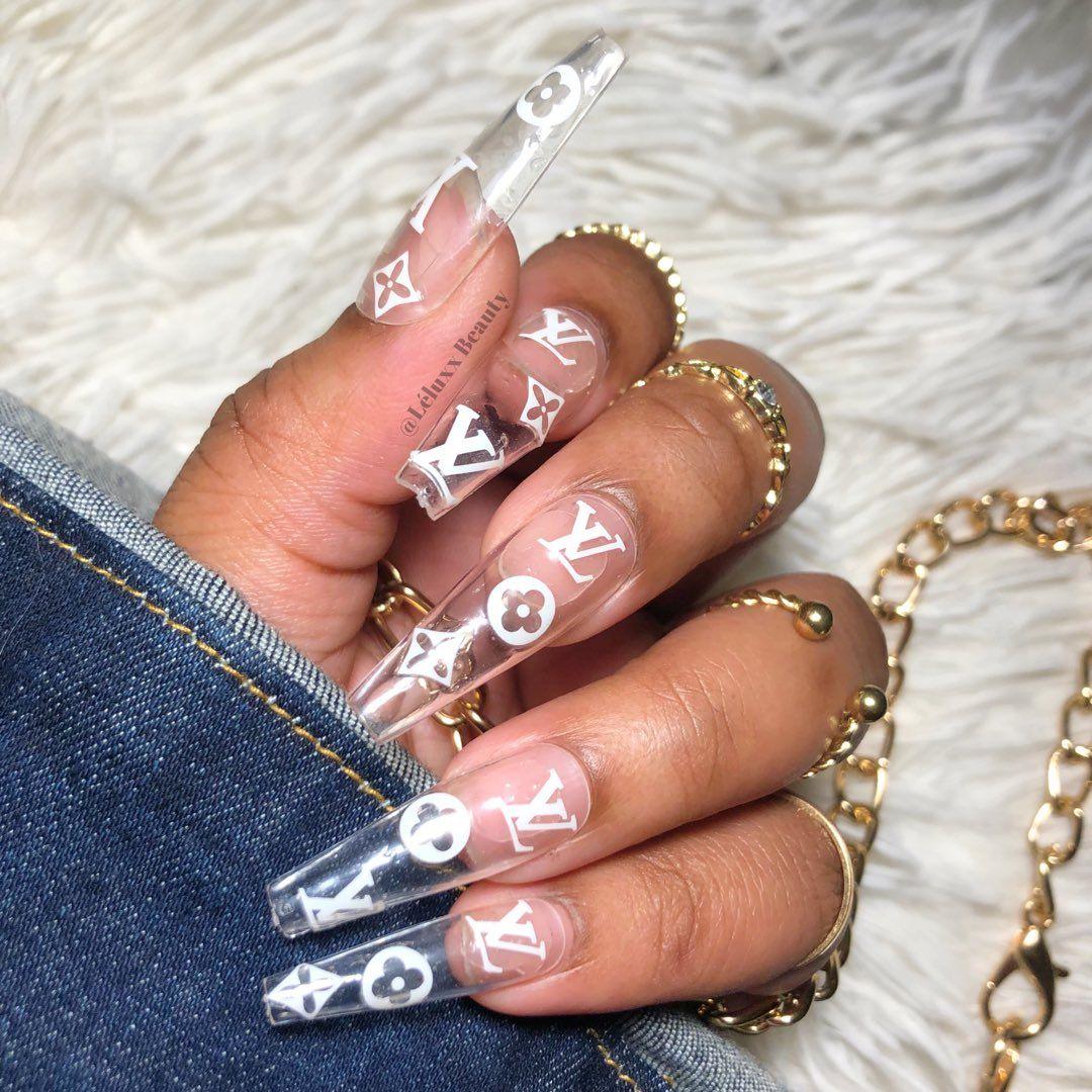 Beautywoc On Twitter Long Nail Designs Fake Nails Long Nails