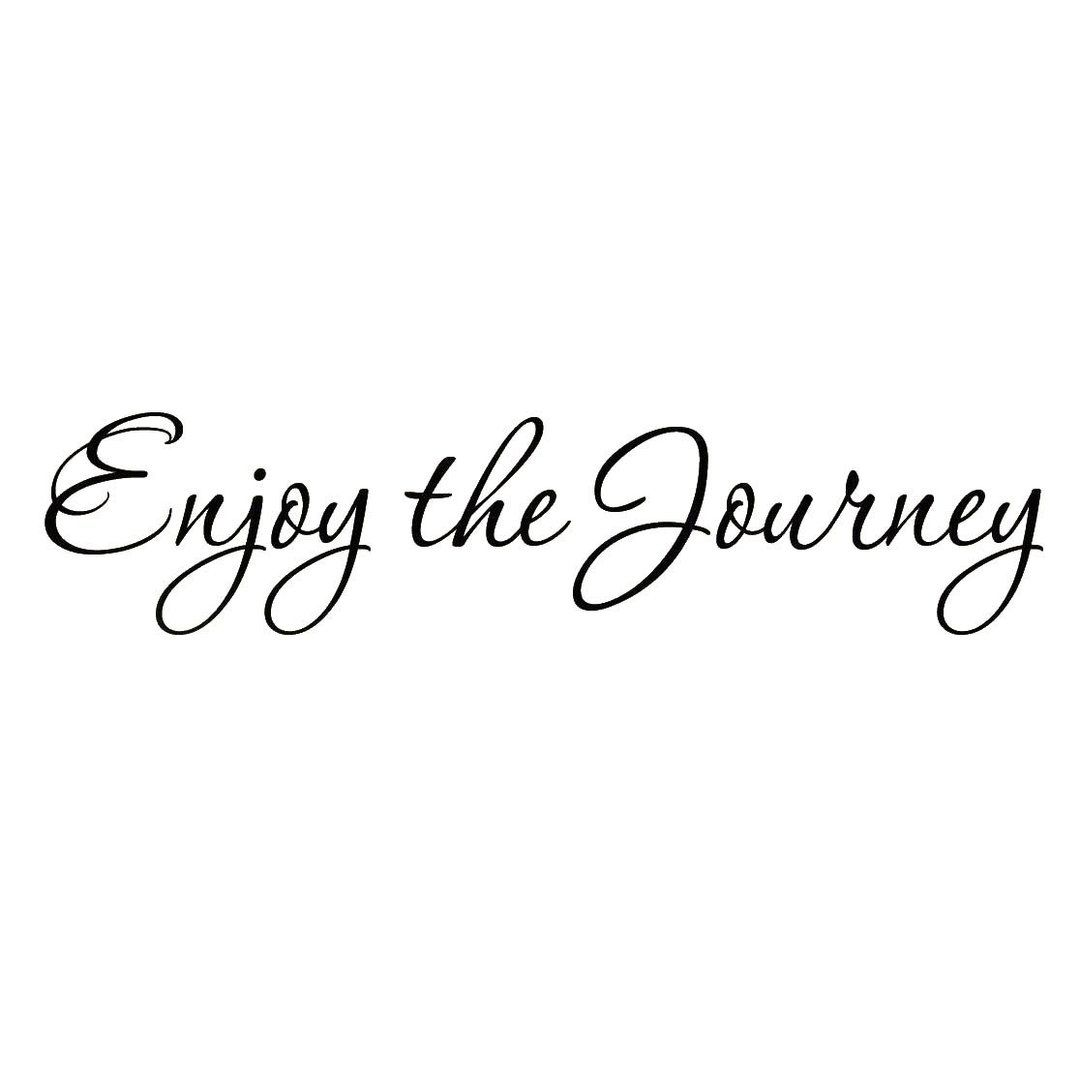 VWAQ Enjoy the Journey Life Wall Quotes Decal