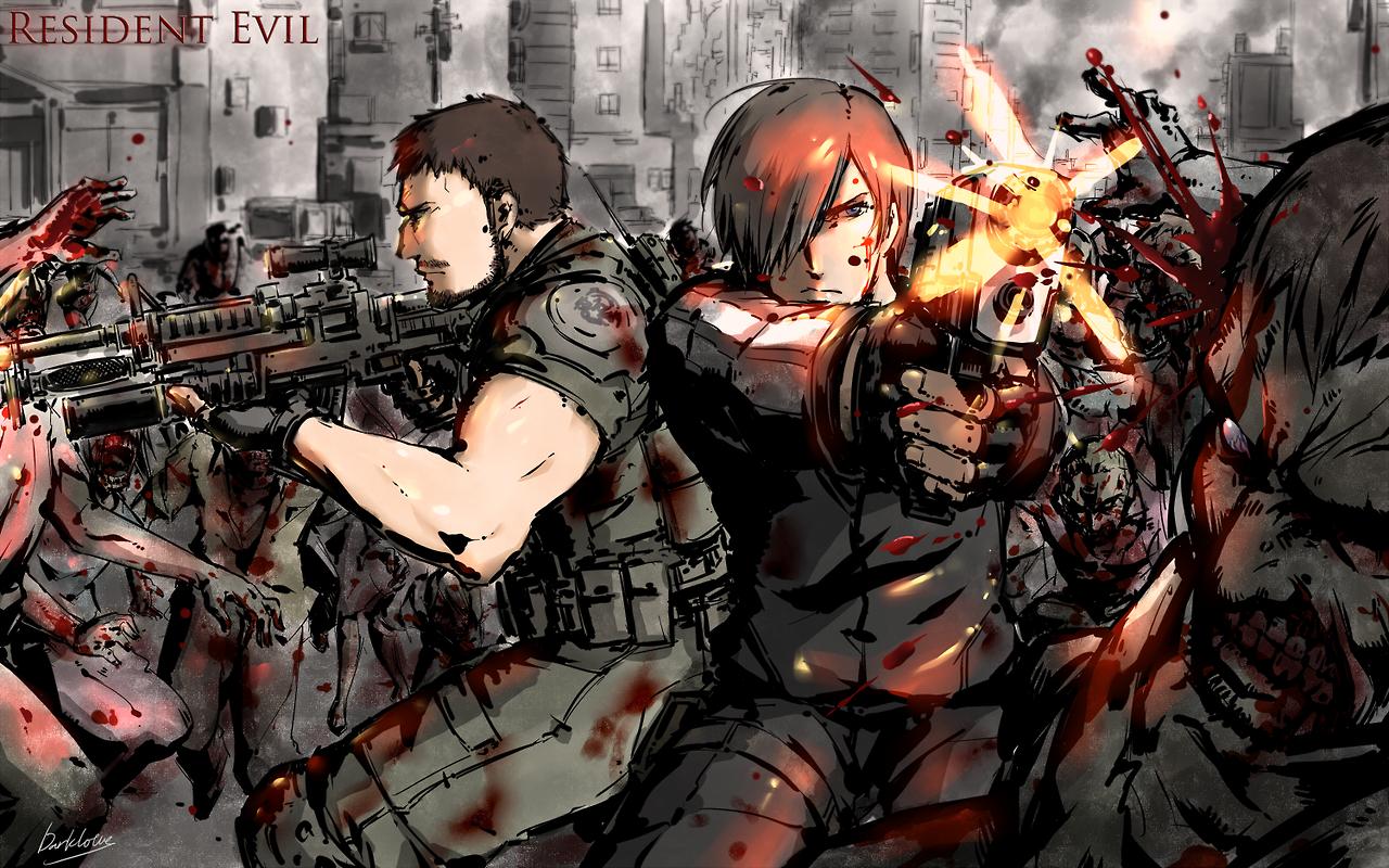 Chris And Leon Resident Evil Funny Resident Evil Game