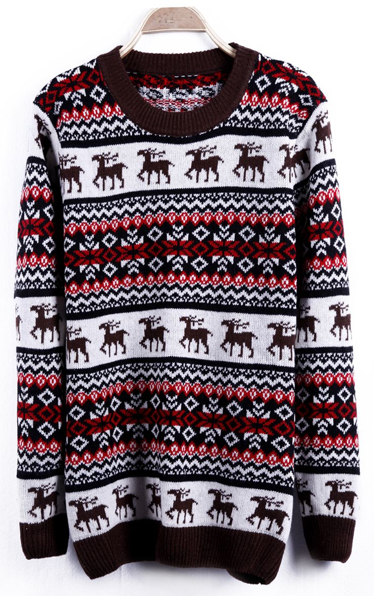 Reindeer ugly Christmas sweater  f087d13a6