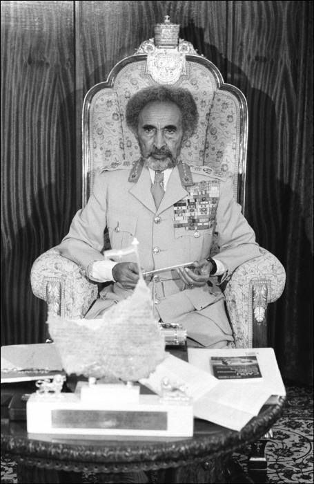 His Imperial Majesty, Haile Selassie I of Ethiopia.