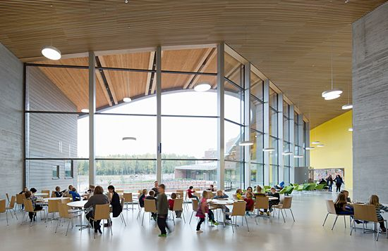 Learning Centered School Architecture Espoo Finland