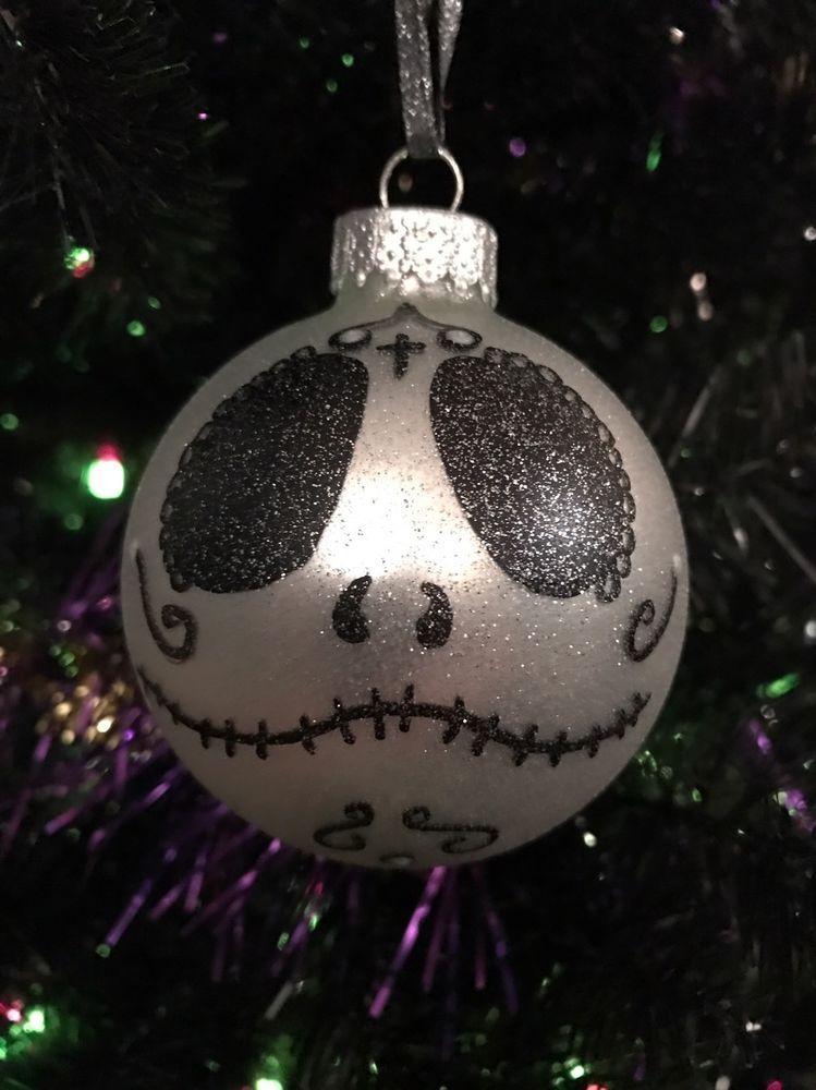 nightmare before christmas Sugar Skull Jack Day Of Dead Christmas - the nightmare before christmas decorations