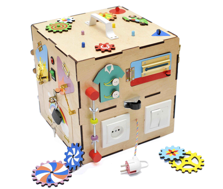 Busy Board Sensory board Activity board Montessori toy