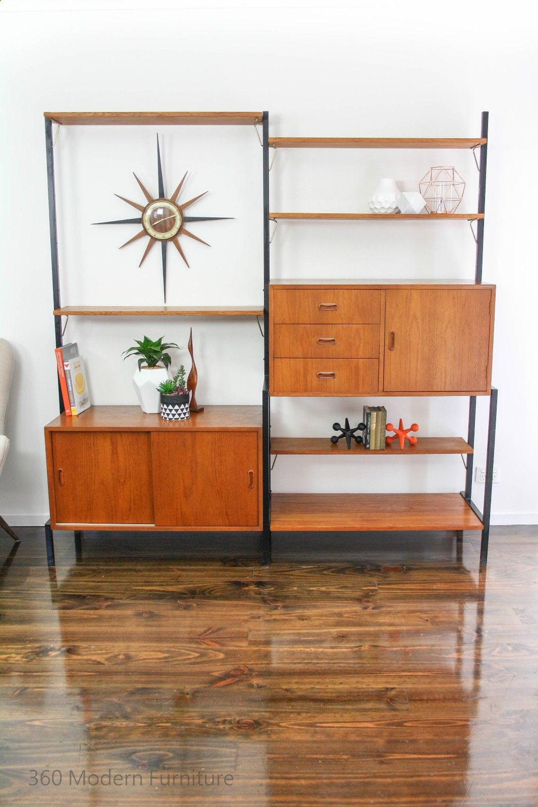 Clean and Care Garden Furniture Mid Century Wall Unit System