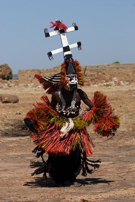 Dogon Mask Dance, Funeral Ceremony, Mali, shot by Lutz Gregor and Thomas Kutschker - LOXOCO FACADE - SEE the video too!