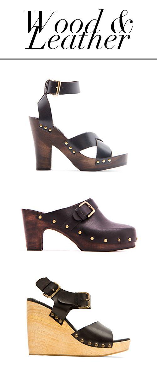 MANGO Wood Sandals (con imágenes)