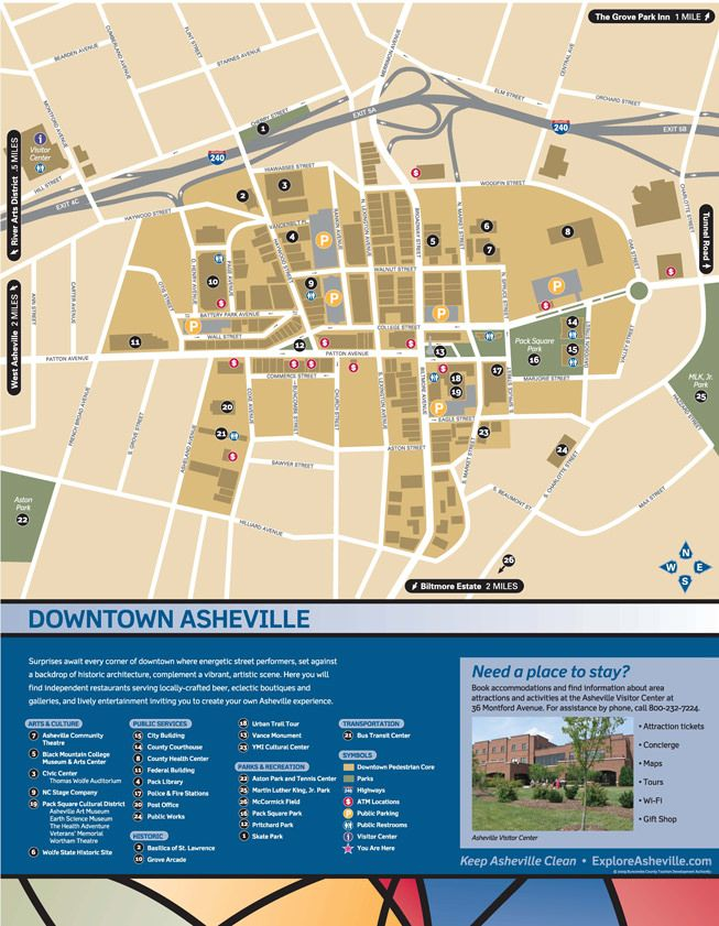 Map Of Downtown Asheville Nc Getting Around | Asheville Bound! | Pinterest | Asheville  Map Of Downtown Asheville Nc