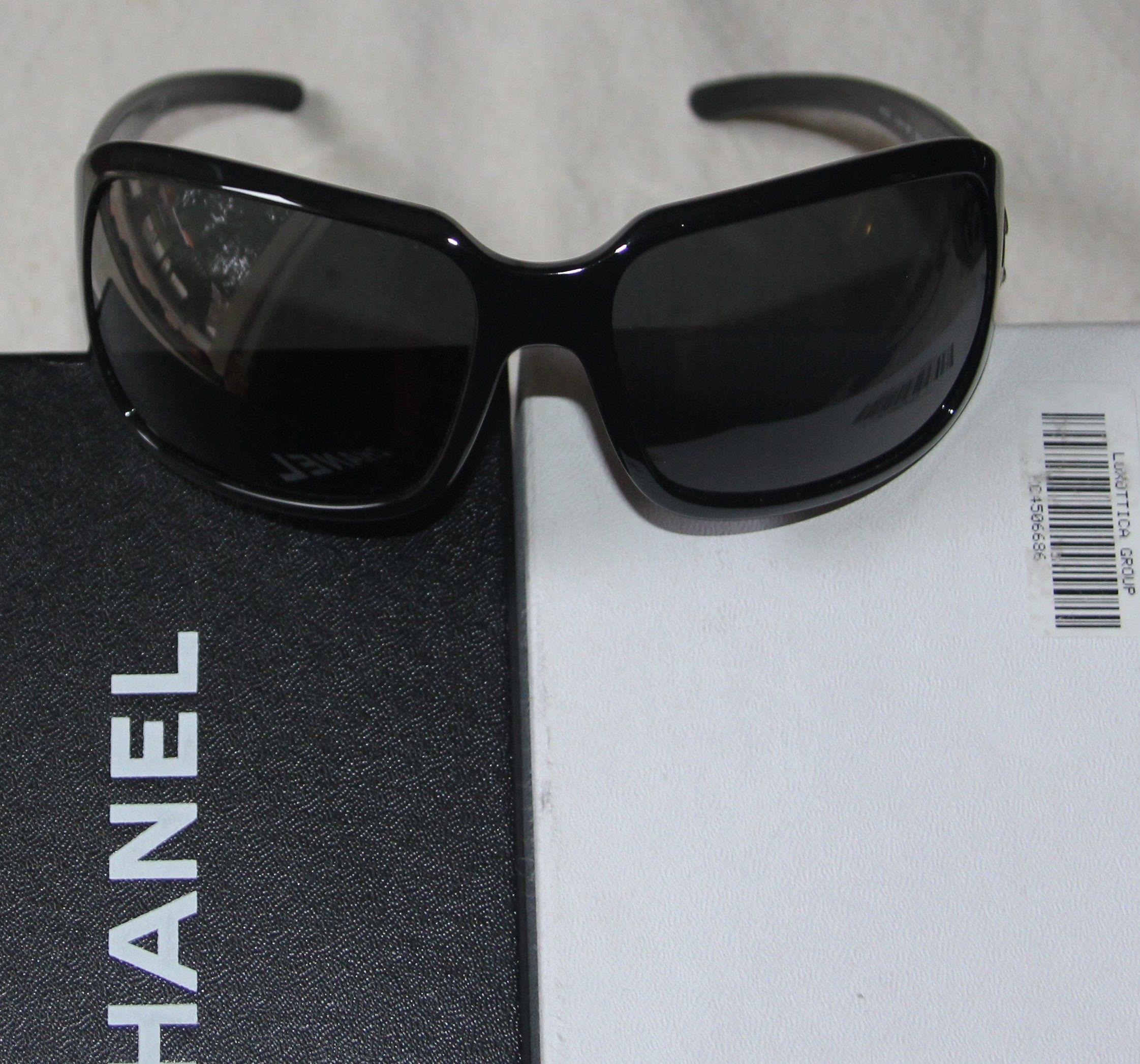 7931852450 Chanel, lunettes de soleil, haut de gamme, luxe, parfait état, femme ...