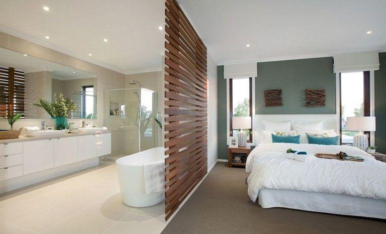 59 Marvelous Open Bathroom Concept For Master Bedrooms Decor Ideas Bathroomideas Bathroomdesign Bat Open Bathroom Open Concept Bathroom Open Plan Bathrooms