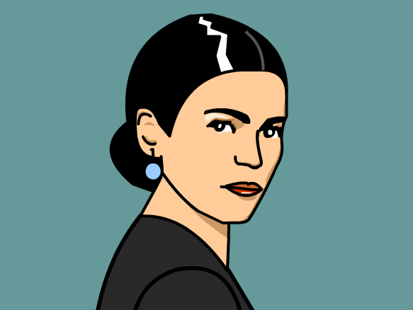 BrainPop--FREE video and activities about Frida Kahlo (easy to understand)