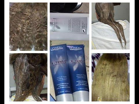 طريقة عمل ترطيبة الشعر X Tenso L Oreal من البداية الى النتيجة النهائية مع نصائح مهمة قبل الاستعمال Youtube Book Cover Cover