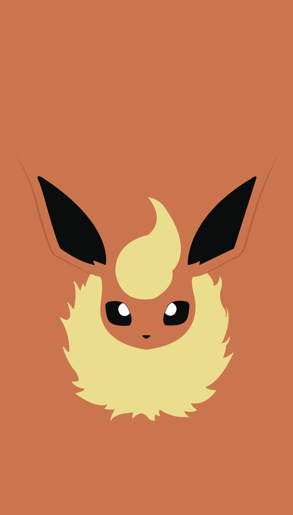 pokemon wallpaper flareon | background | pinterest | ポケモン