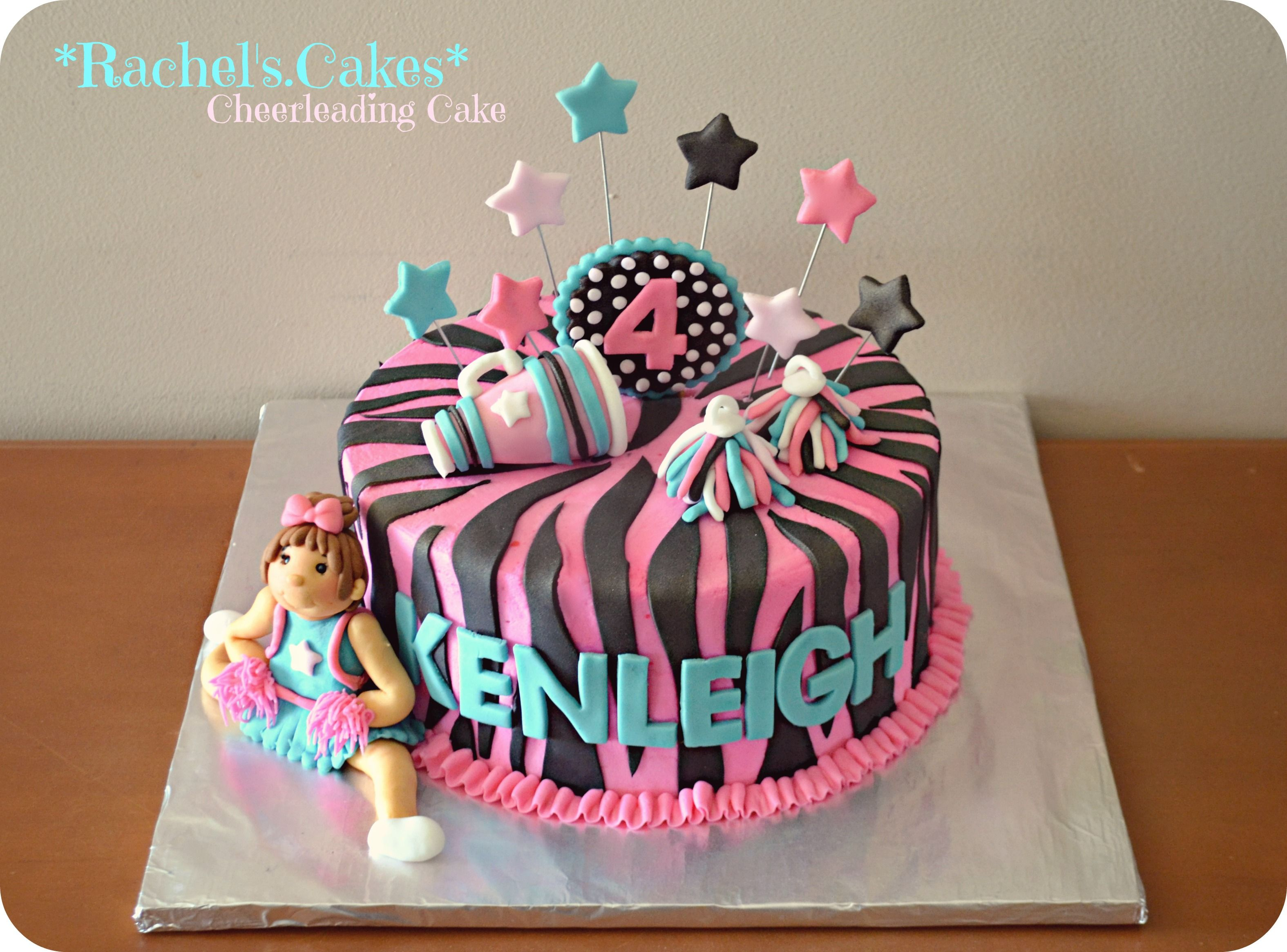 Strange Cheerleading Cake With Images Cheerleading Birthday Cakes Funny Birthday Cards Online Fluifree Goldxyz