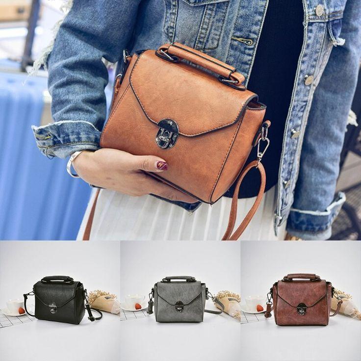 Lady Women Leather Handbag Shoulder Bags Tote Purse Crossbody Messenger Hobo Bag Single Shoul Lady Women Leather Handbag Shoulder Bags Tote Purse Crossbody Messenger Hobo...