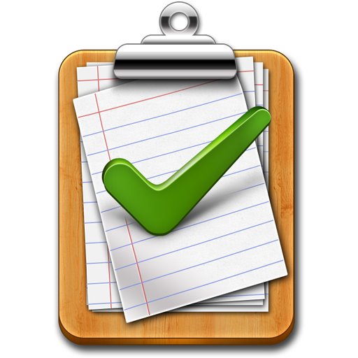Tick mark approved clipboard Icon (PSD Employee rewards