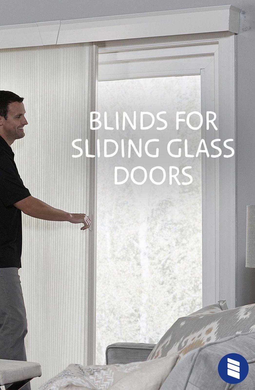 The Best Vertical Blinds Alternatives For Sliding Glass Doors Blinds Com Sliding Glass Door Window Treatments Sliding Glass Door Blinds Sliding Door Coverings