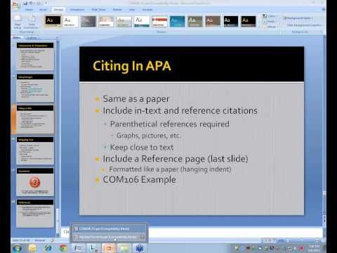 2013 08 08 19 00 powerpoint creating an apa style ms powerpoint