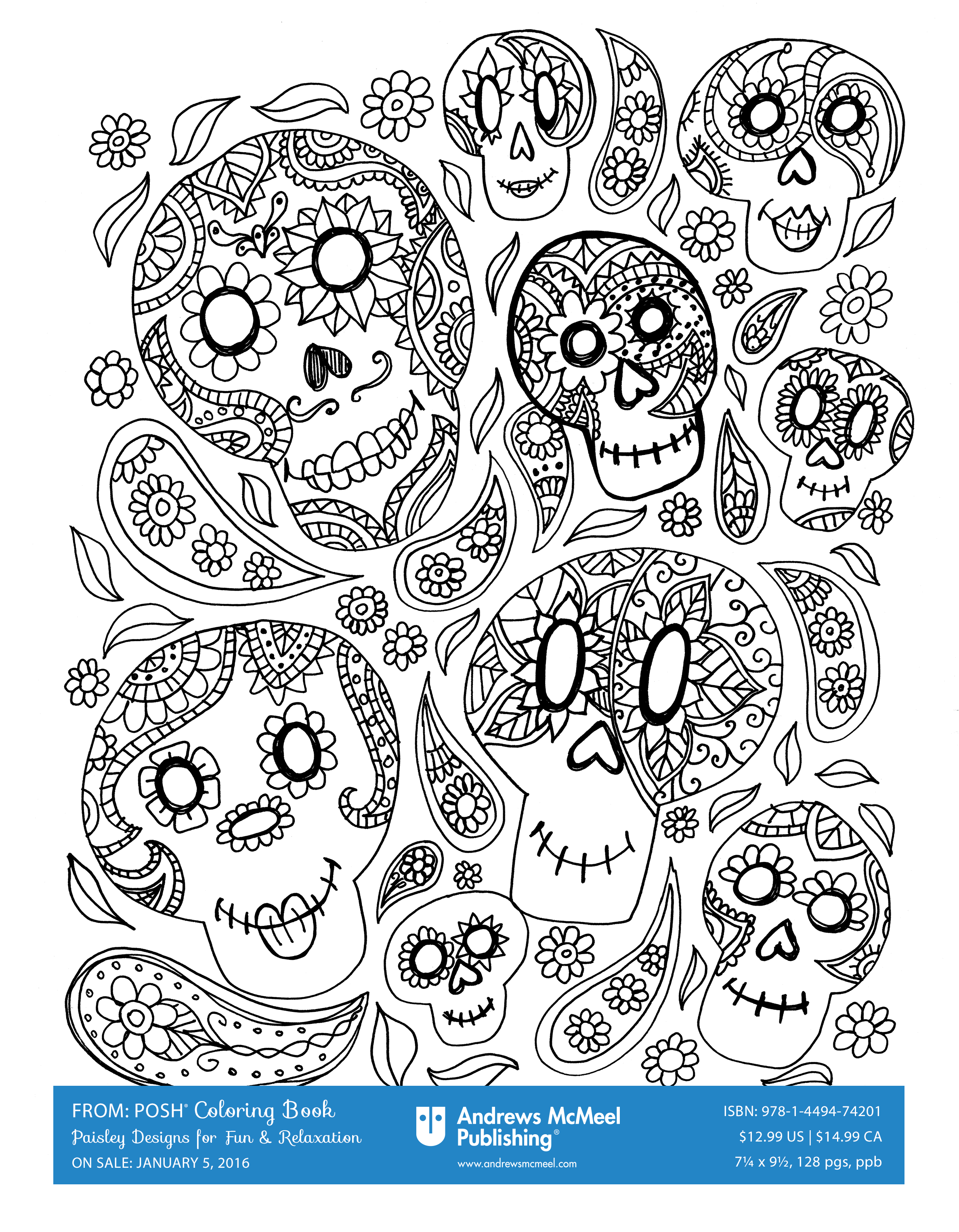 Decorate for Halloween with a Halloween-themed coloring page from ...