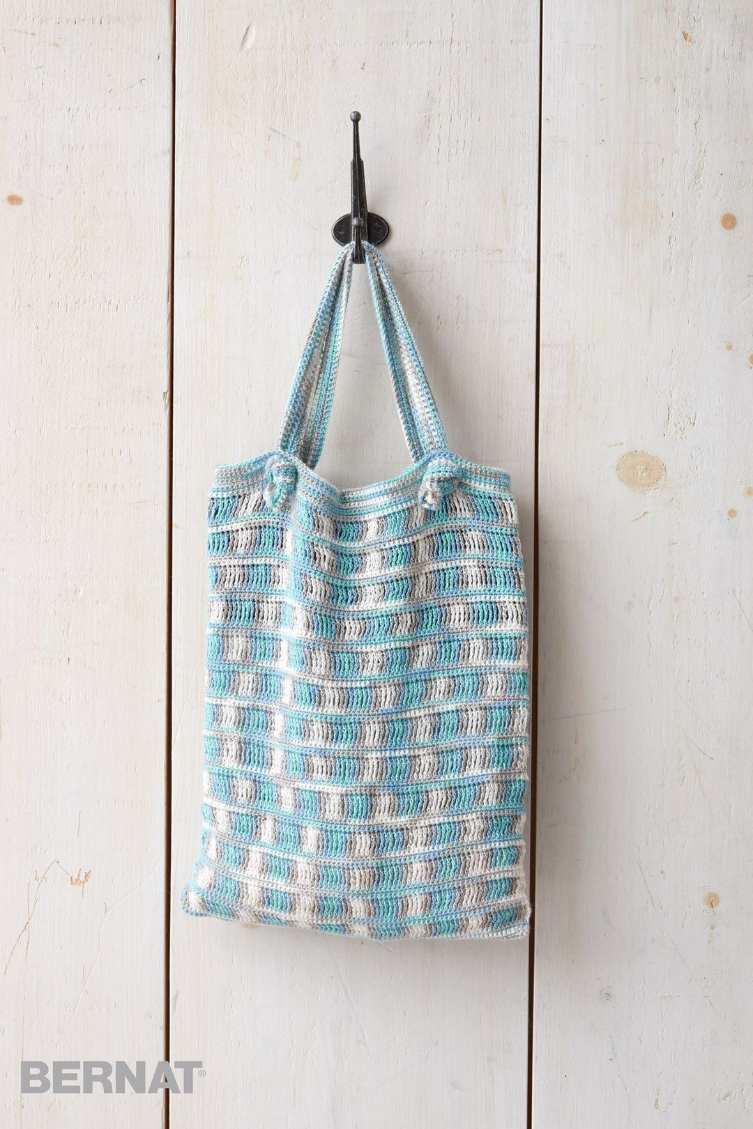 Hamptons Crochet Beach Bag | 1. Crochet | Pinterest | Crochet, Free ...
