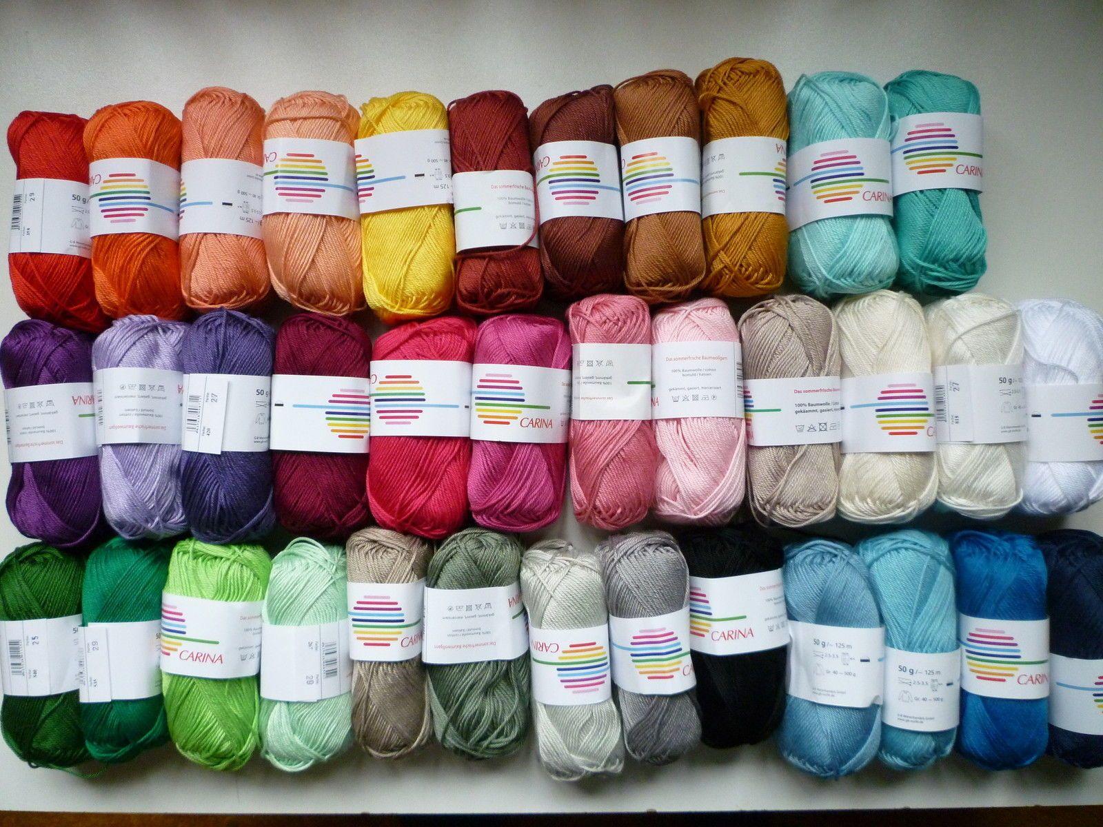 Details zu Carina Baumwollgarn Häkeln Stricken Amigurumi | Crochet