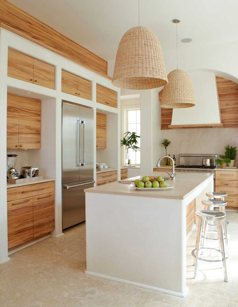 Things We Love Blonde Wood In Any Space Design Chic Home Decor Kitchen Kitchen Design Home Kitchens
