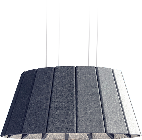 Luxxbox Vapor Echo Acoustic Pendant Element Lighting Lamp Shade