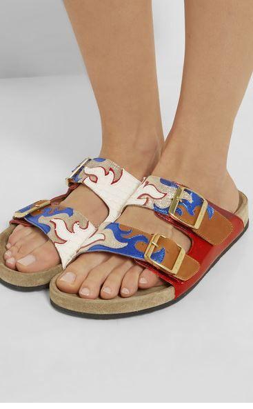 de6366d3c451 Isabel Marant Gail Birkenstock Sandals