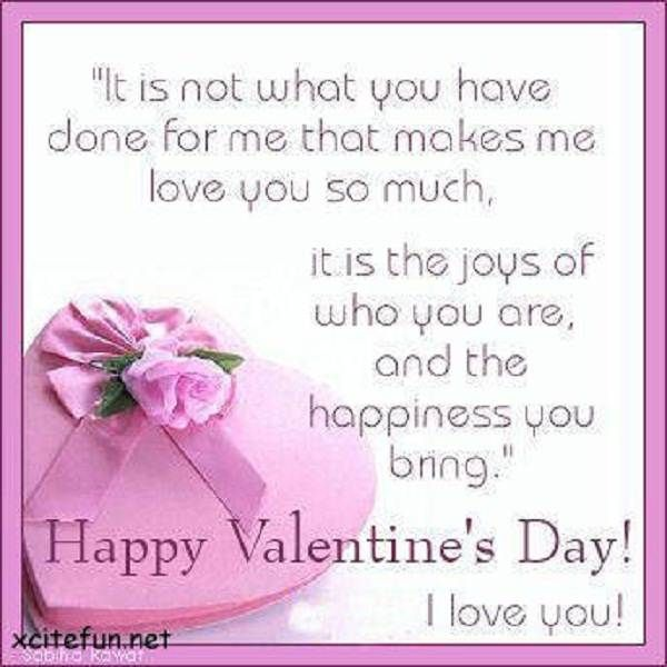 sweet valentines day quotes for him Valentine Day Quotes For Him ...