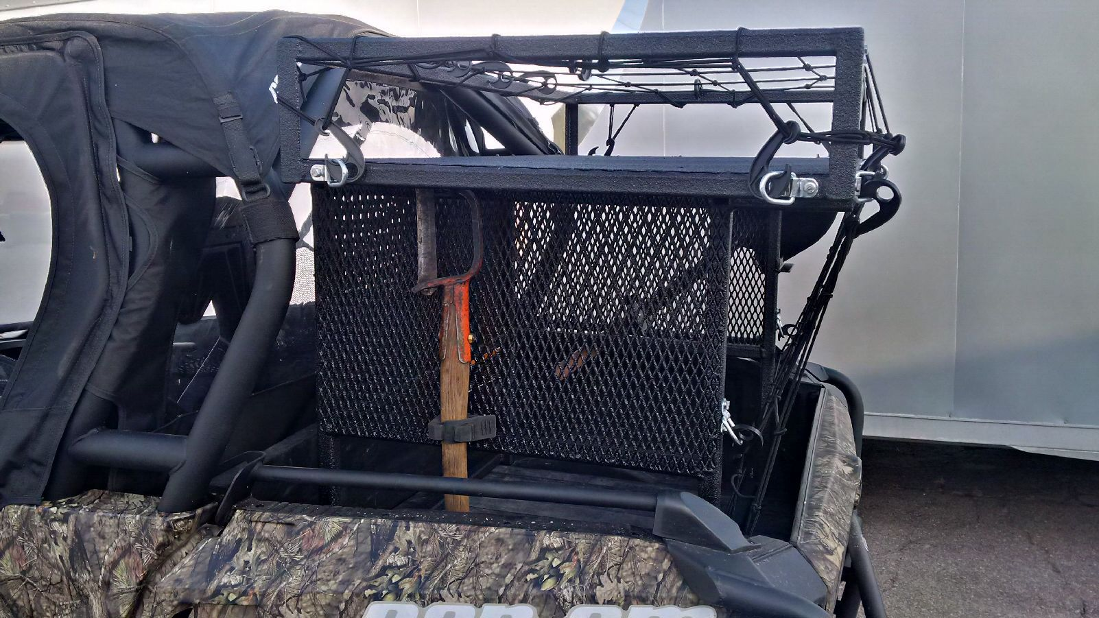 Homemade Rear Rack For Can Am Commander Can Am Commander Can Am Commander Accessories Can Am
