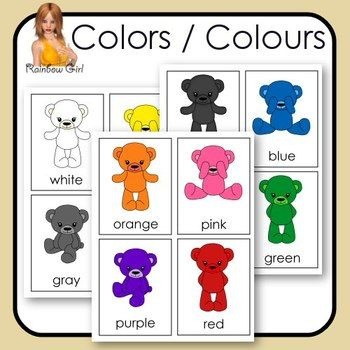 11 Basic Colors Colours Are Featured In These Flash 3
