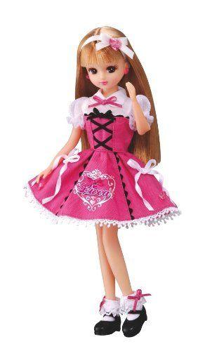 Takara Tomy cinnamoroll x Licca Chan lovely Licca Doll dress set