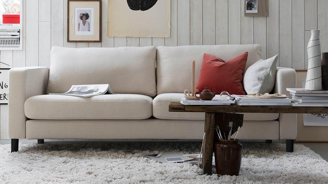 Karlstad 2 Seater Sofa Cover Bemz Sofa Covers Ikea Sofa House Beds