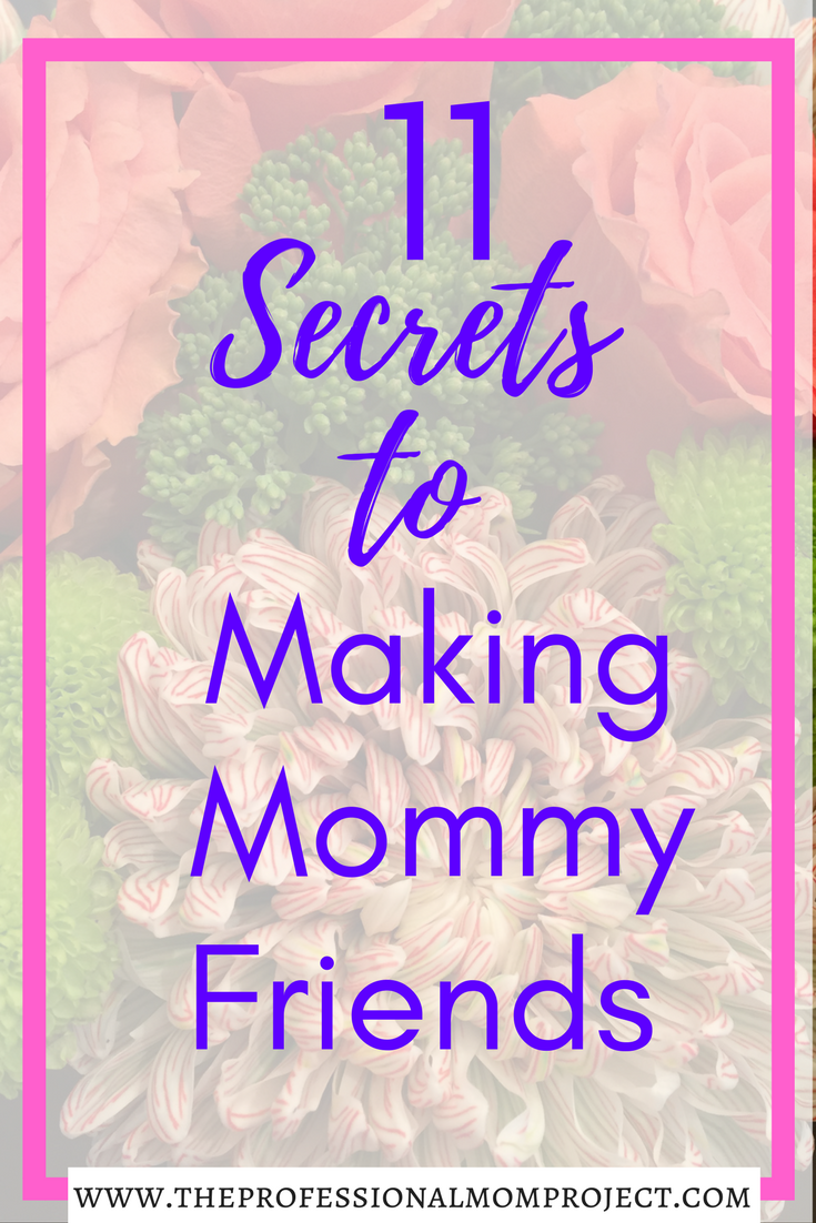 Do you have a hard time making mommy friends? It can be a challenge sometimes with our busy lives. Check out this post for 11 Easy Tips for Making Mommy Friends.