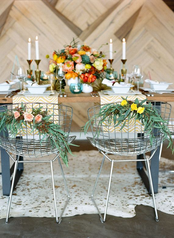 Mid Century Modern Wedding Inspiration