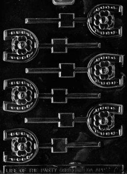 HORSESHOE LOLLY Miscellaneous Candy Mold Chocolate: Amazon.com: Kitchen & Dining