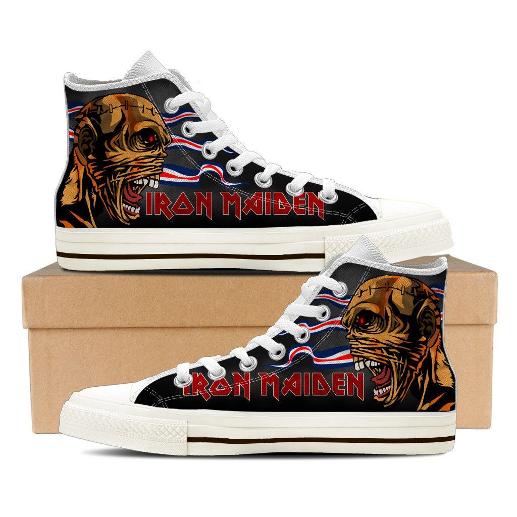 114ae19a9c6 Iron maiden mens shoes products shoes painted sneakers jpg 1024x1024 Iron  maiden shoes