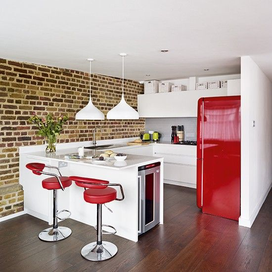 Red Kitchen Colour Ideas  Home Trends  Red Kitchen Kitchen Delectable Kitchen Colour Designs Ideas Design Decoration
