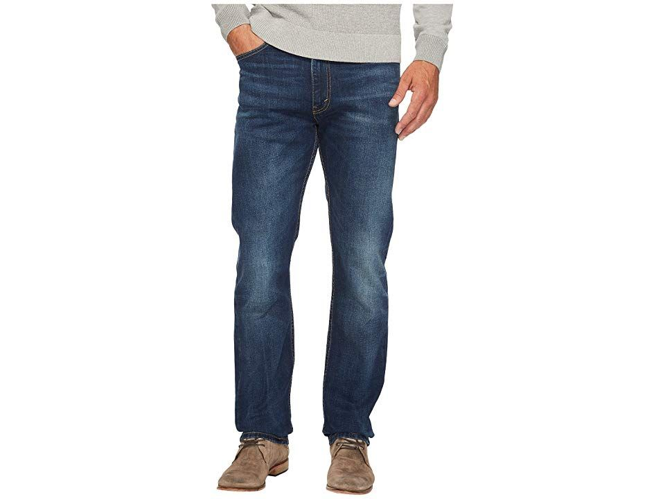 Levisr Mens 513tm Slim Straight Fit Crosstown Mens Jeans Set a new style standard in Levis 513 jeans The 513 lands in between a skinny and straight featuring a close yet...