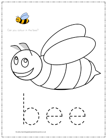 Mummy G early years resources: Bee pencil control